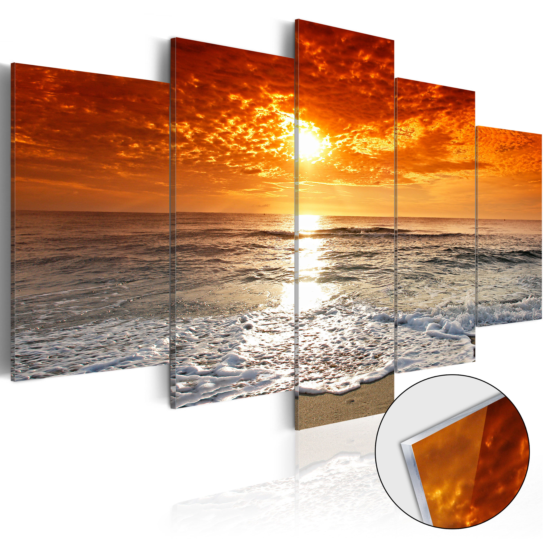 acrylglasbild modern wandbild glasbilder bild meer. Black Bedroom Furniture Sets. Home Design Ideas