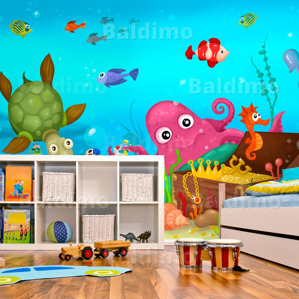 Vlies Fototapete Tapeten Wandbilder Tapete Kinder 100402 3