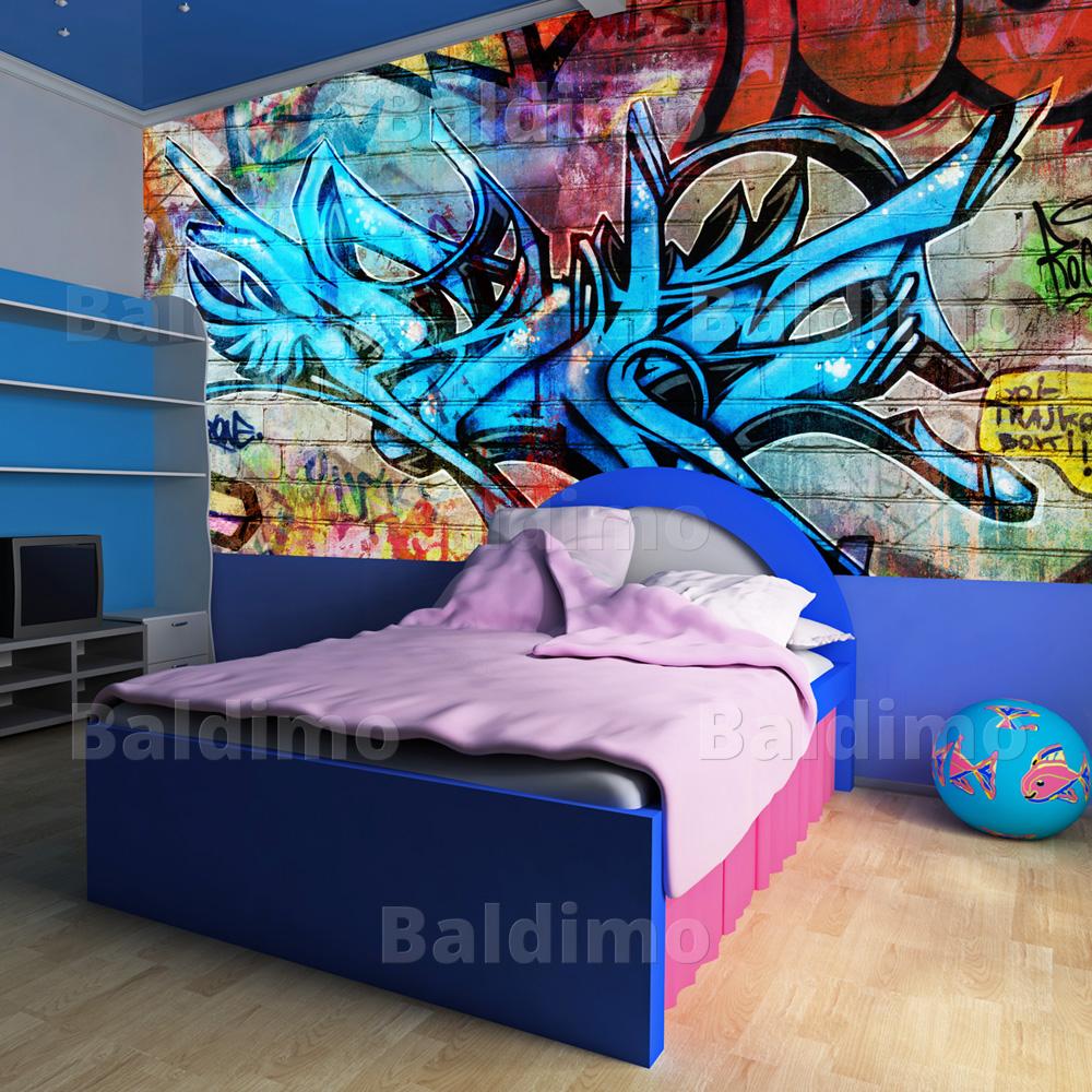 WALLPAPER-XXL-NON-WOVEN-HUGE-PHOTO-WALL-MURAL-ART-PRINT-GRAFFITI-10040905-120
