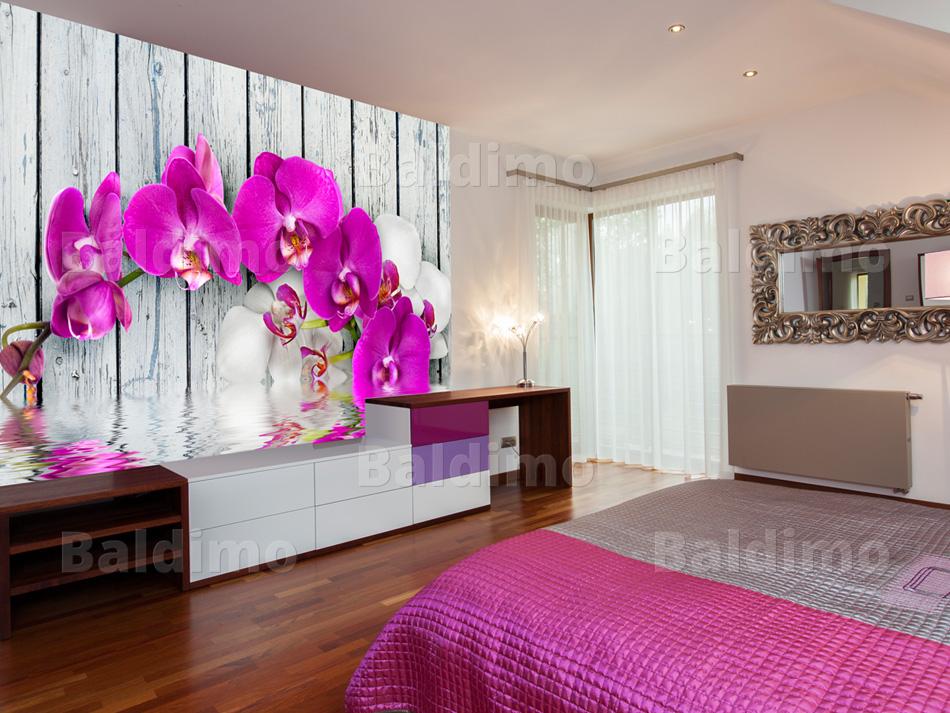 vlies fototapete tapeten wandbilder tapete blumen 10040906 23 ebay. Black Bedroom Furniture Sets. Home Design Ideas