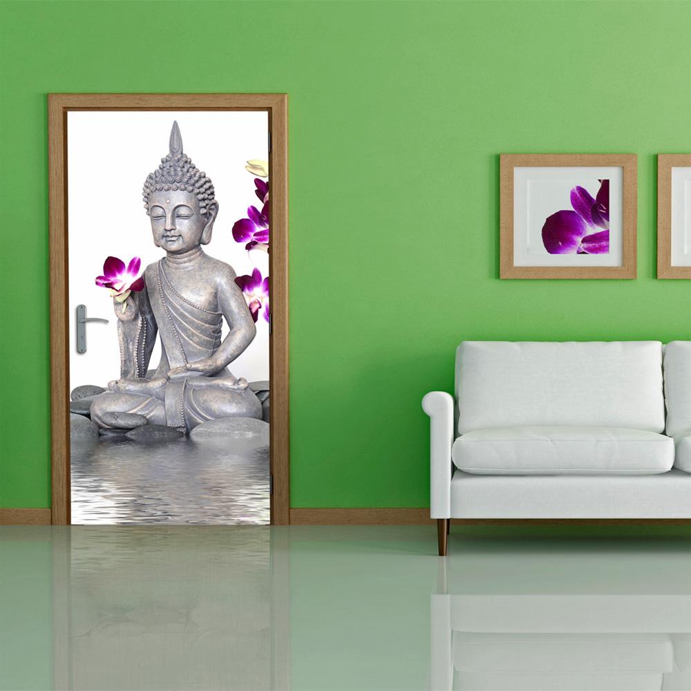 Door wallpaper poster mural 100x210 cm home decoration for Poster mural zen deco
