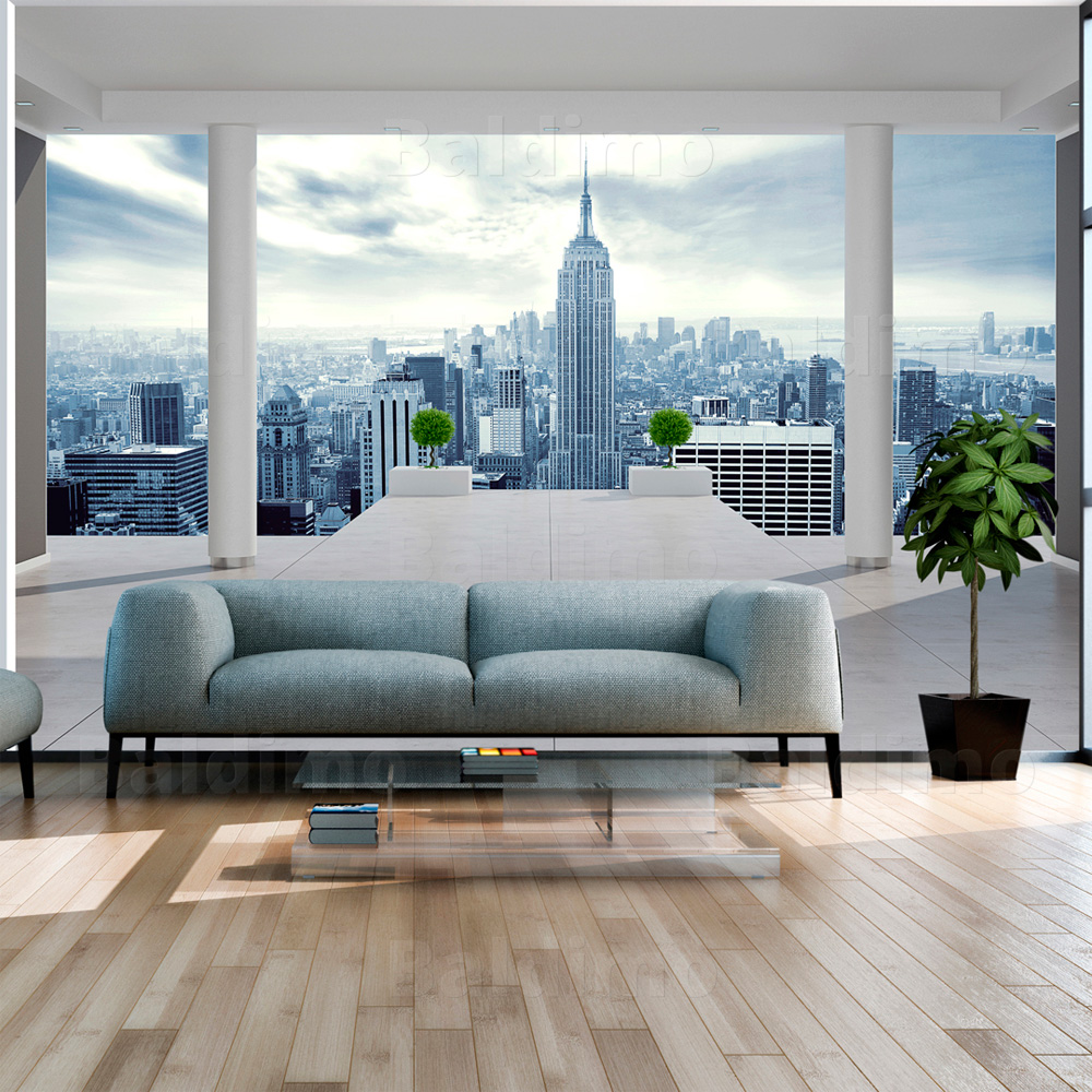 vlies fototapete tapeten xxl wandbilder tapete new york 10110904 25 ebay. Black Bedroom Furniture Sets. Home Design Ideas