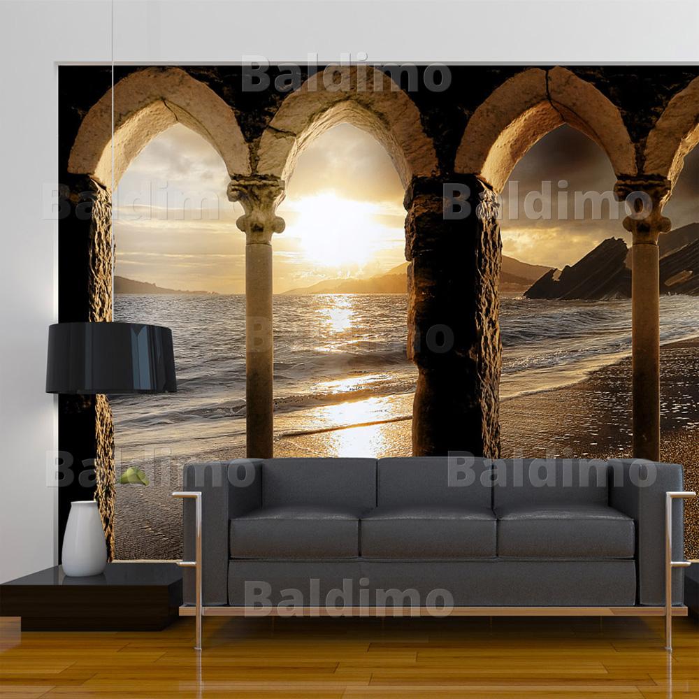vlies fototapete tapeten xxl wandbilder tapete landschaft 10110904 28 ebay. Black Bedroom Furniture Sets. Home Design Ideas