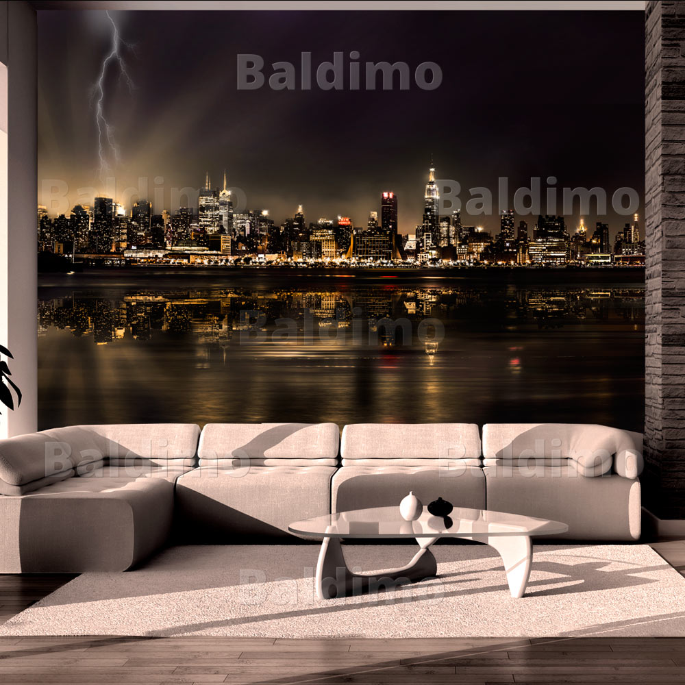 vlies fototapete 3 farben zur auswahl tapeten new york 10110904 62 ebay. Black Bedroom Furniture Sets. Home Design Ideas