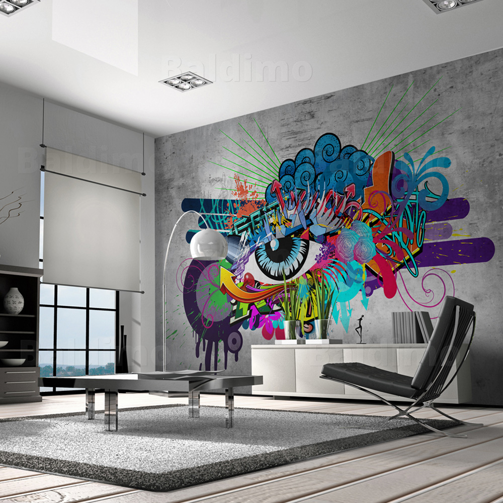 wallpaper xxl non woven huge photo wall mural art print graffiti 10110905 10 ebay. Black Bedroom Furniture Sets. Home Design Ideas