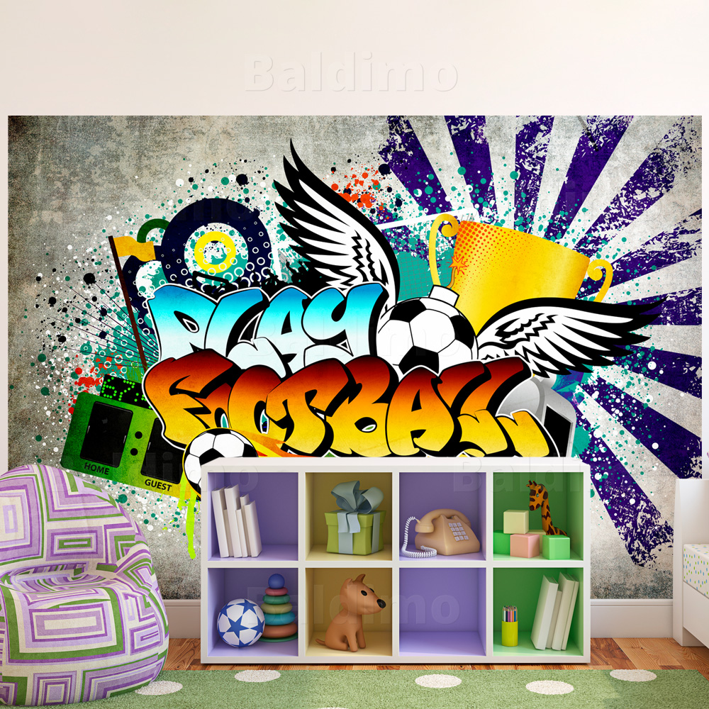 vlies fototapete tapeten xxl wandbilder tapete graffiti 10110905 31 ebay. Black Bedroom Furniture Sets. Home Design Ideas