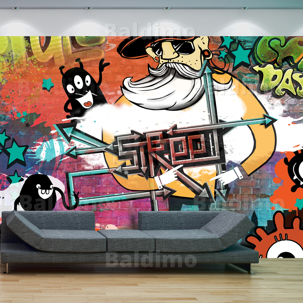 WALLPAPER-XXL-NON-WOVEN-HUGE-PHOTO-WALL-MURAL-ART-PRINT-GRAFFITI-10110905-8