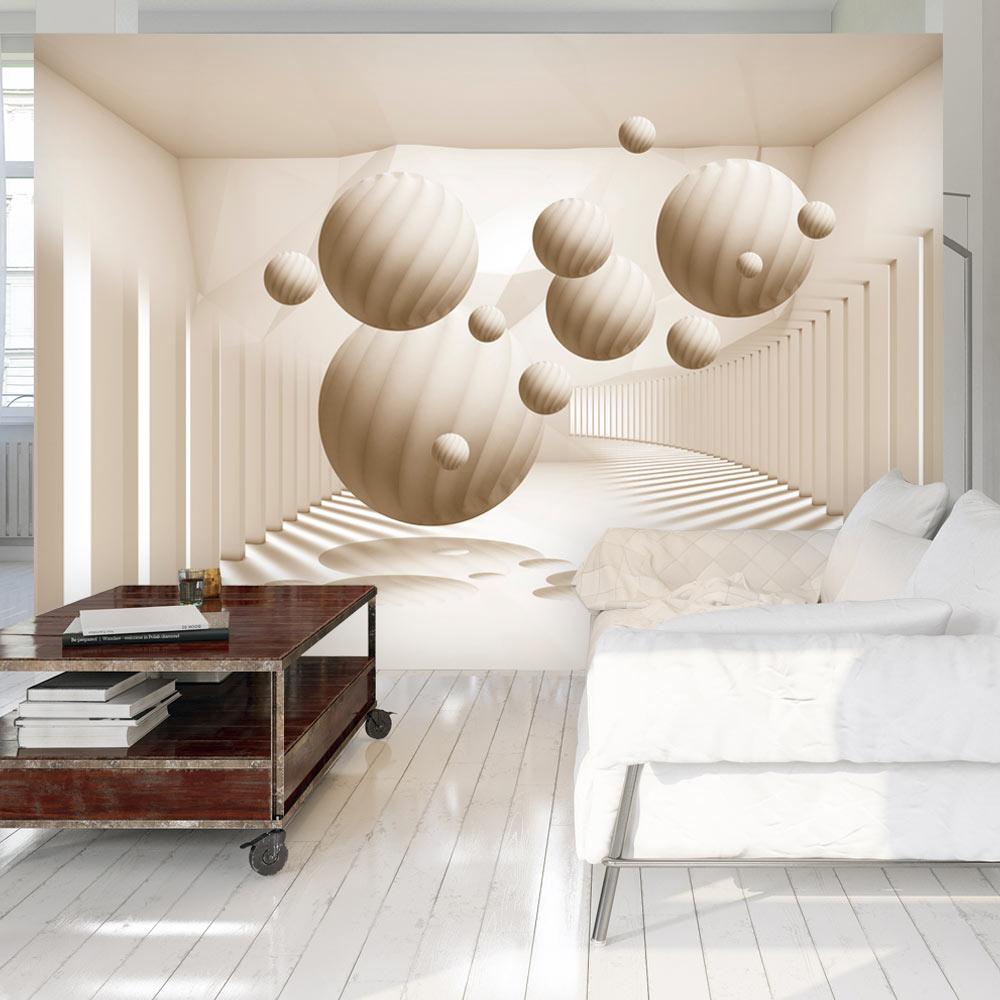 vlies fototapete 3 farben zur auswahl tapeten abstrakt kugel 3d a a 0152 a b. Black Bedroom Furniture Sets. Home Design Ideas
