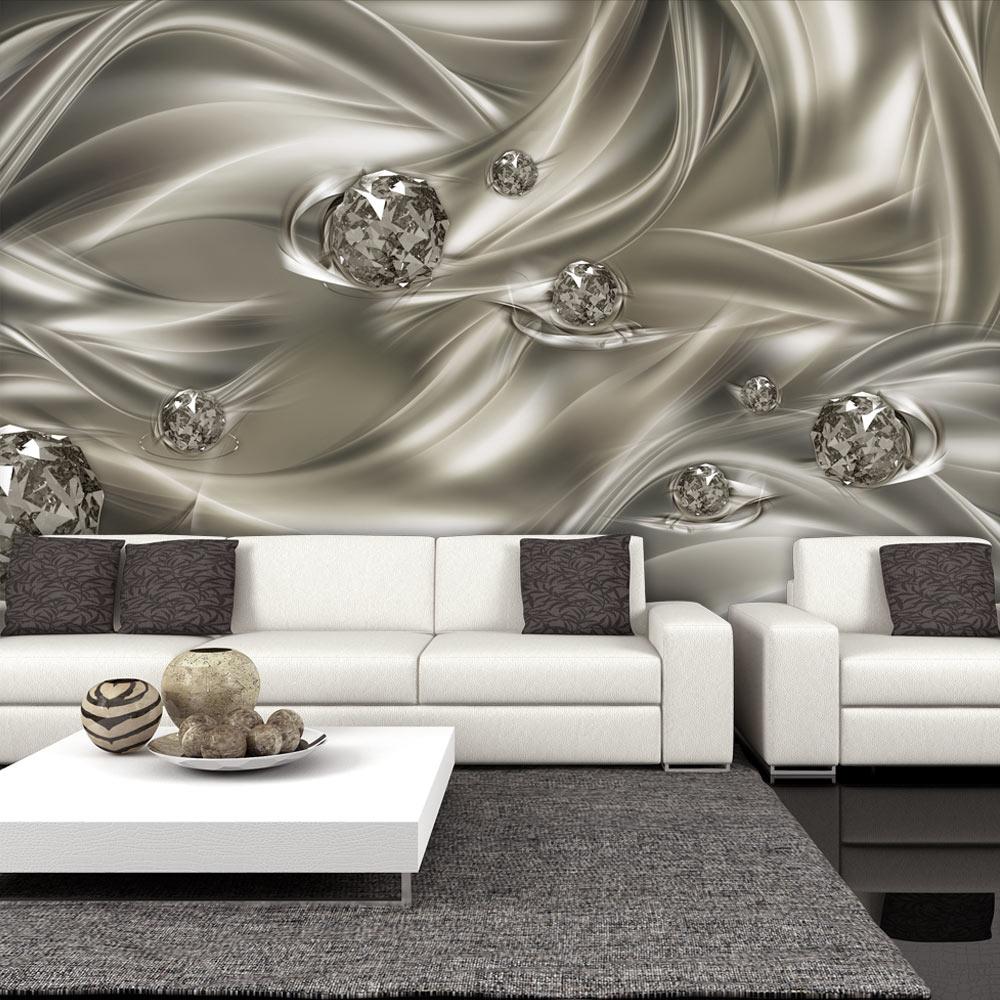 vlies fototapete 3 farben zur auswahl tapeten abstrakt diamant a a 0253 a b ebay. Black Bedroom Furniture Sets. Home Design Ideas