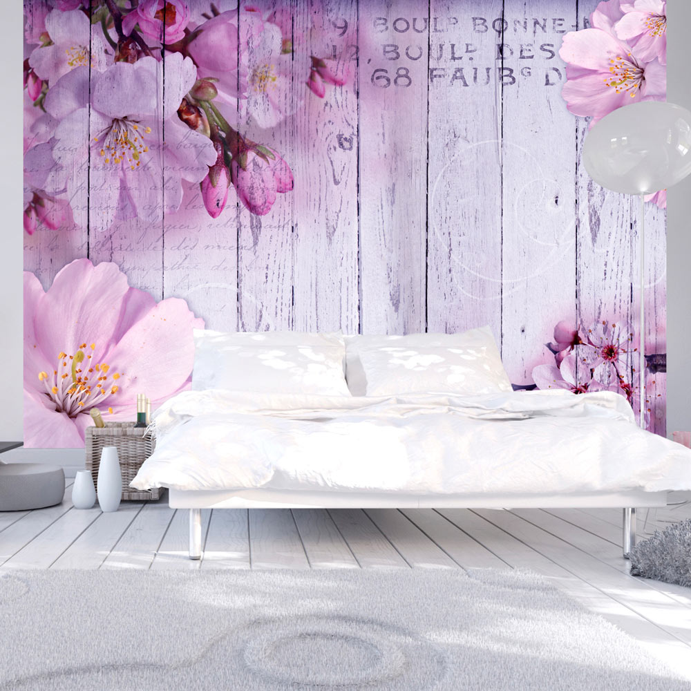 fototapete holz optik bretter vlies tapete blumen wandbild 3 farben b a 0202 a b ebay. Black Bedroom Furniture Sets. Home Design Ideas