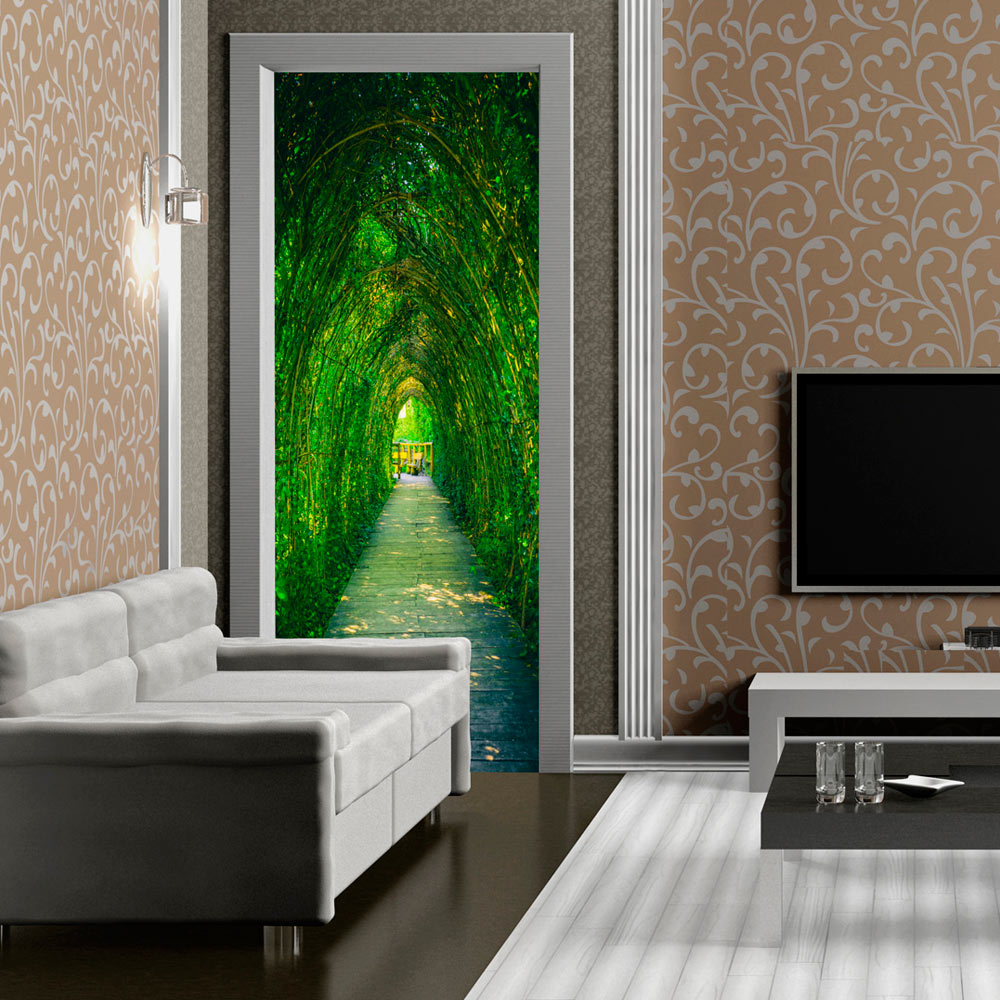 Door wallpaper poster mural 100x210 cm home decoration for Door mural wallpaper