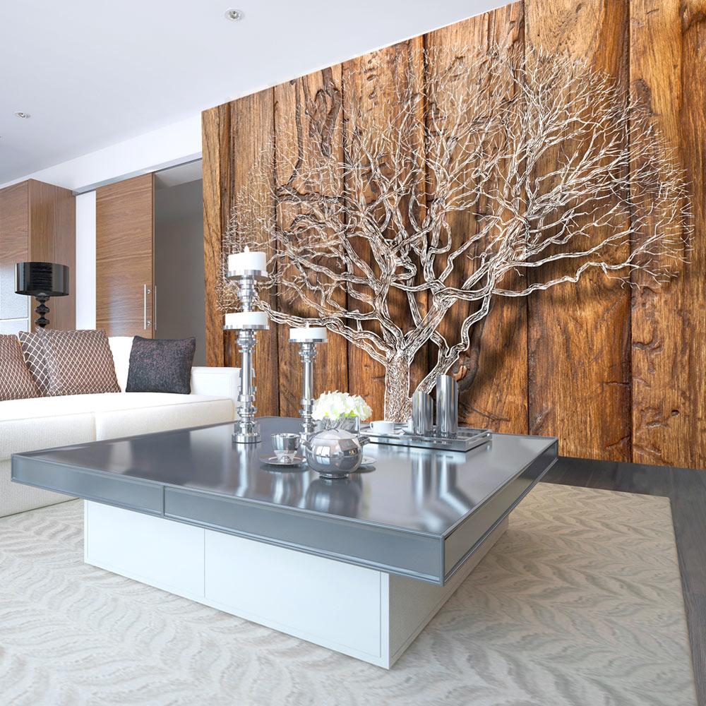 fototapete holz optik baum bretter vlies tapete wandbilder. Black Bedroom Furniture Sets. Home Design Ideas
