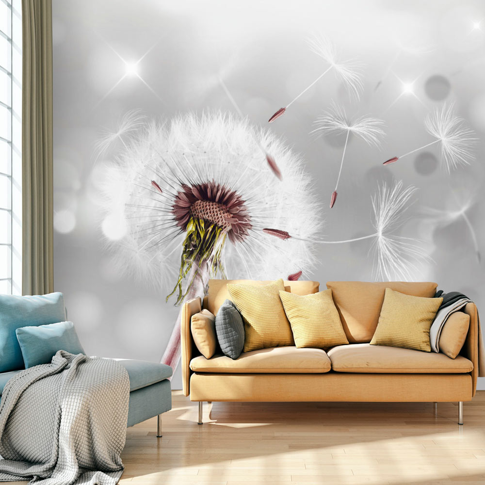fototapete pusteblume natur bokeh vlies tapete wandbilder. Black Bedroom Furniture Sets. Home Design Ideas