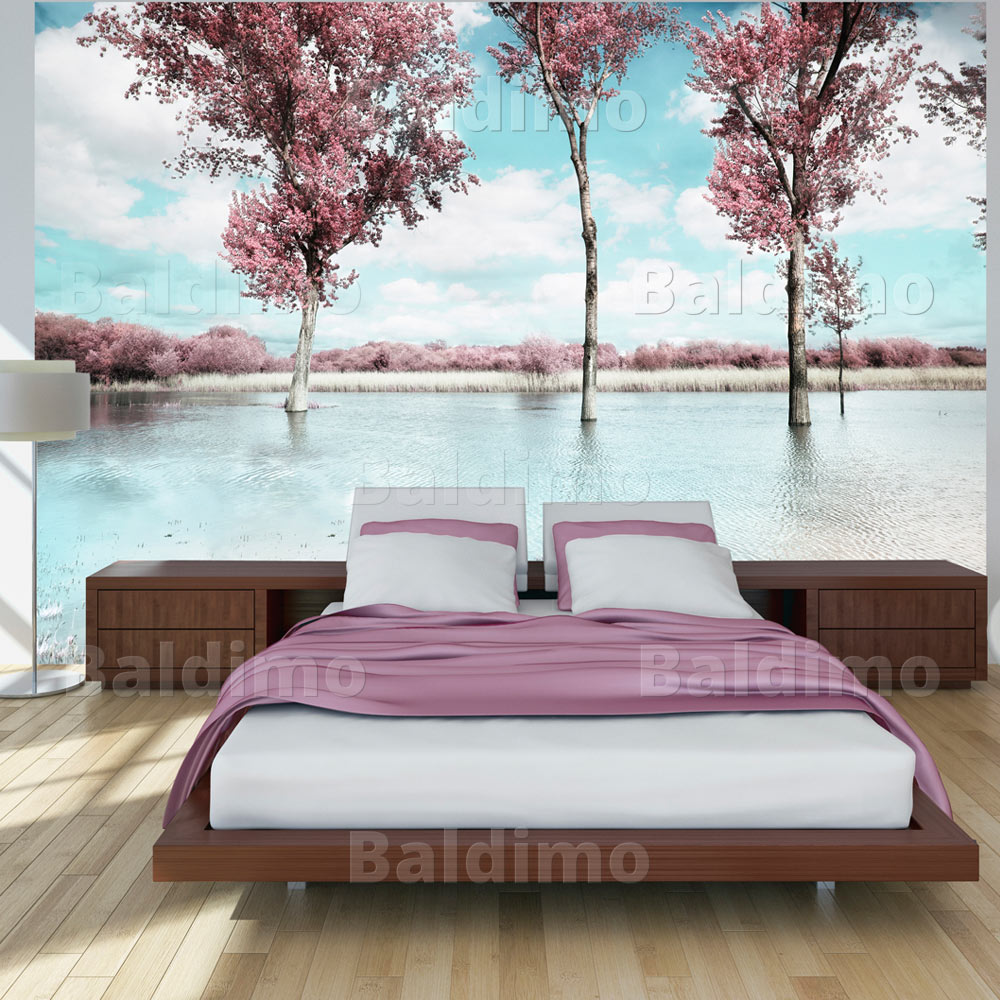vlies fototapete 3 farben zur auswahl tapeten natur see c a 0009 a b ebay. Black Bedroom Furniture Sets. Home Design Ideas
