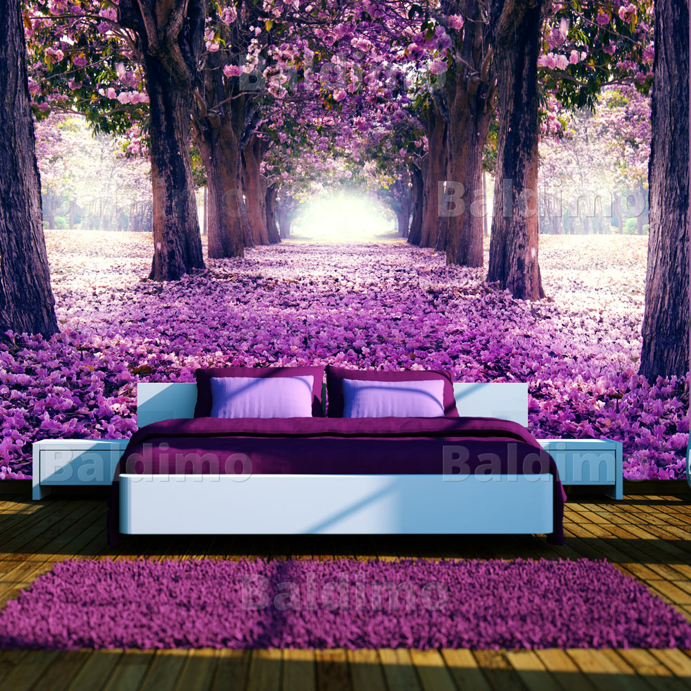 vlies fototapete 3 farben zur auswahl tapeten blumen. Black Bedroom Furniture Sets. Home Design Ideas