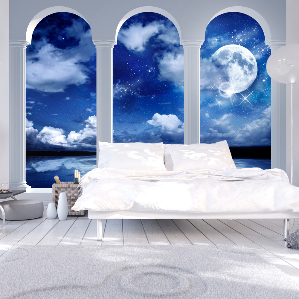 Vlies fototapete 3 farben zur auswahl tapeten s ulen - Colori murali per camere da letto ...