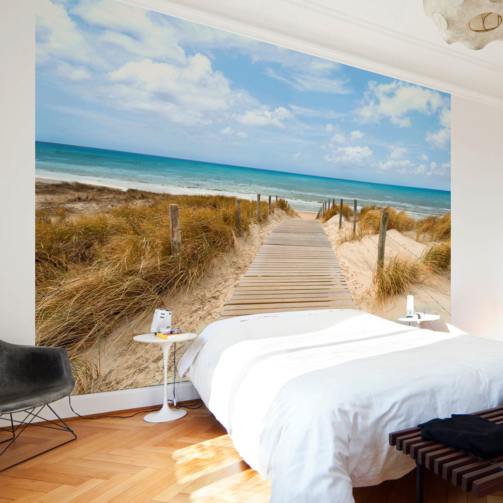 vlies fototapete 3 farben zur auswahl tapeten natur meer strand c a 0054 a b ebay. Black Bedroom Furniture Sets. Home Design Ideas