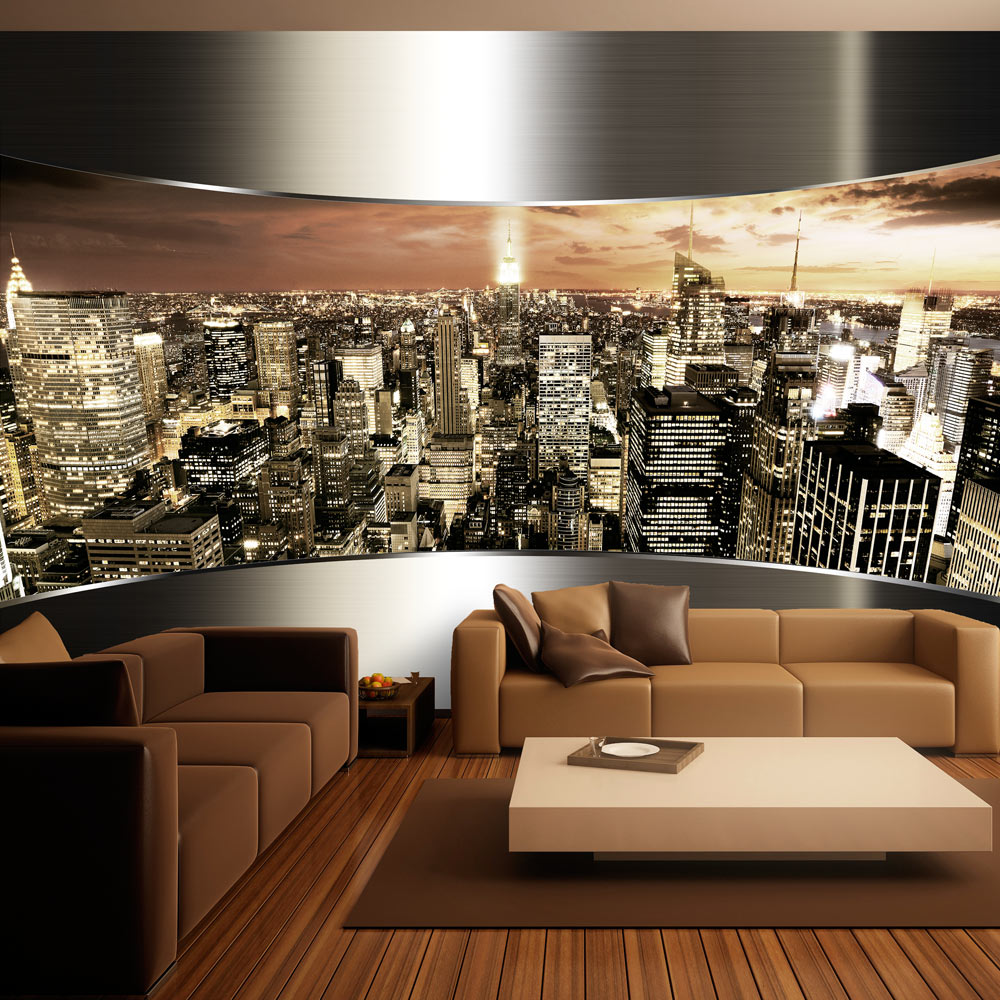 vlies fototapete 3 farben zur auswahl tapeten new york nyc d a 0023 a b ebay. Black Bedroom Furniture Sets. Home Design Ideas