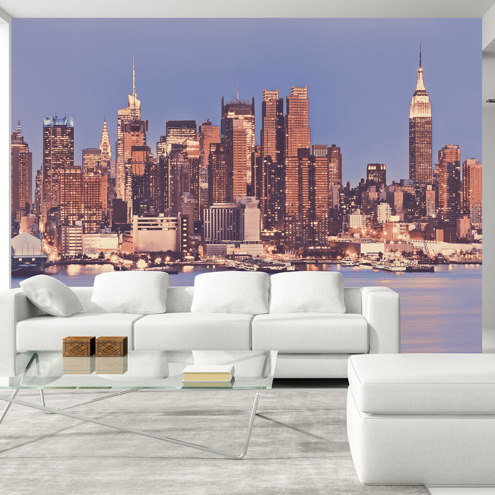 Wallpaper xxl non woven huge photo mural design new york for New york wallpaper rolls
