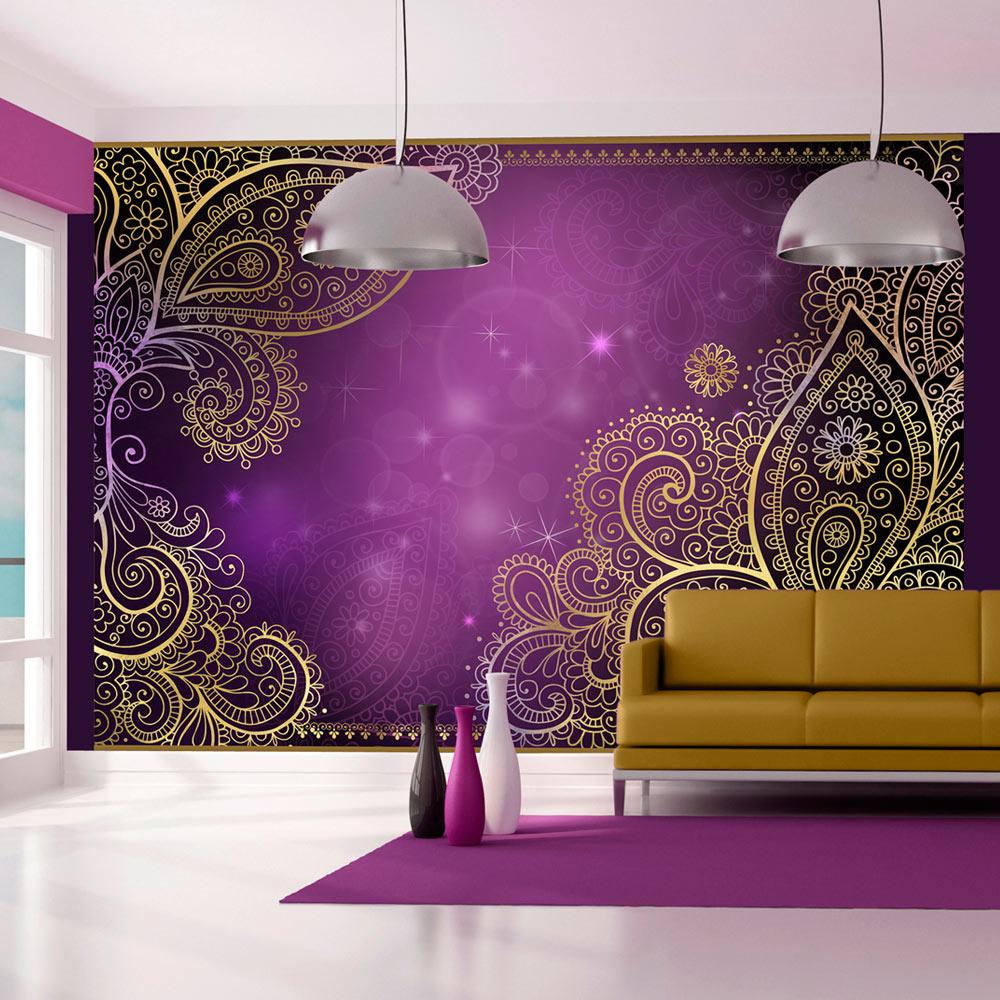 fototapete ornamente abstrakt vlies tapete wandbilder 3. Black Bedroom Furniture Sets. Home Design Ideas