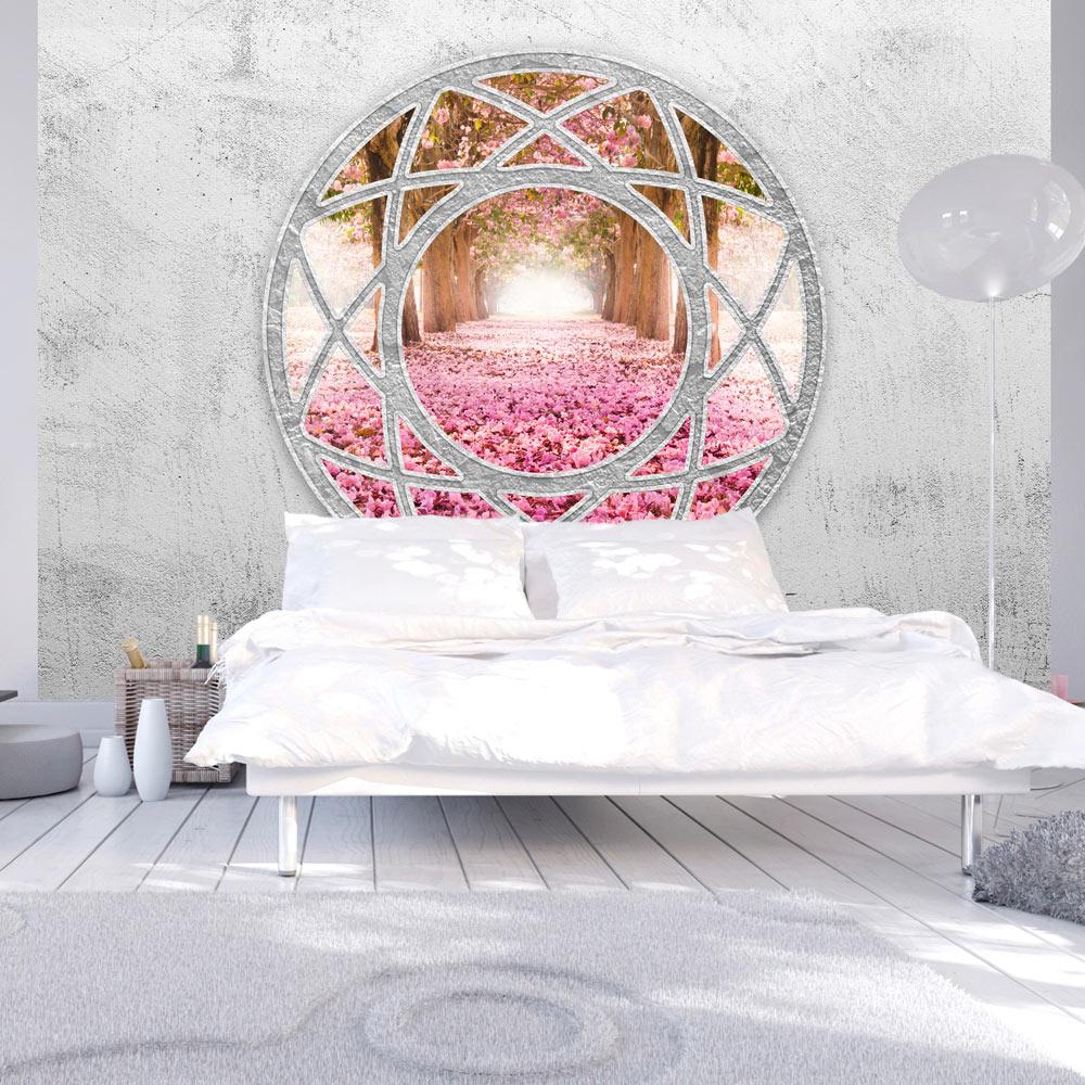 vlies fototapete 3 farben zur auswahl tapeten fenster wand f a 0209 a b ebay. Black Bedroom Furniture Sets. Home Design Ideas