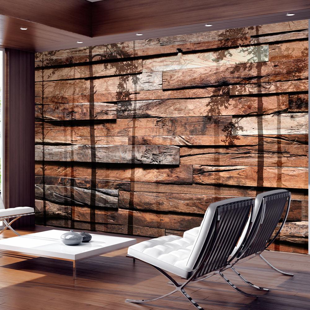 vlies fototapete 3 farben zur auswahl tapeten baum holz bretter f a 0382 a b ebay. Black Bedroom Furniture Sets. Home Design Ideas