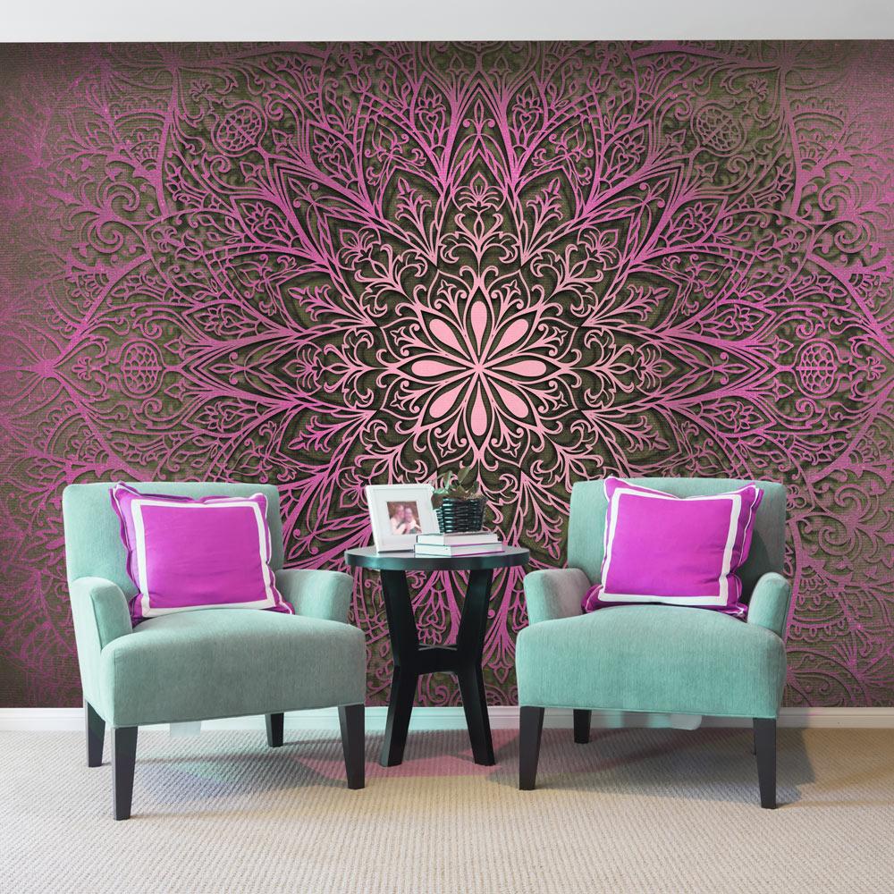 Vlies fototapete 3 farben zur auswahl tapeten mandala for Tapeten auswahl