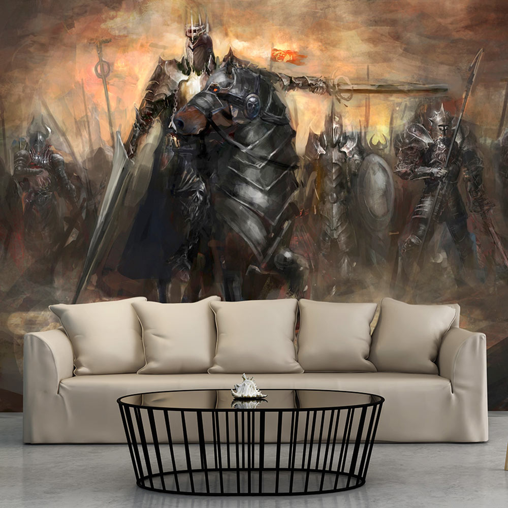 fototapete drache schloss fantasy vlies tapete wandtapete 3 farben g a 0080 a b ebay. Black Bedroom Furniture Sets. Home Design Ideas