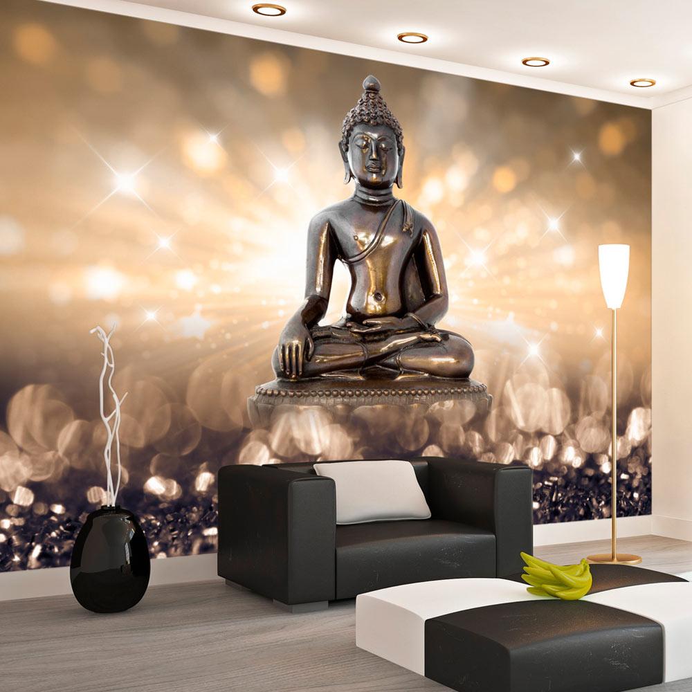 fototapete buddha zen abstrakt vlies tapete wandbilder 3 farben h c 0011 a b ebay. Black Bedroom Furniture Sets. Home Design Ideas