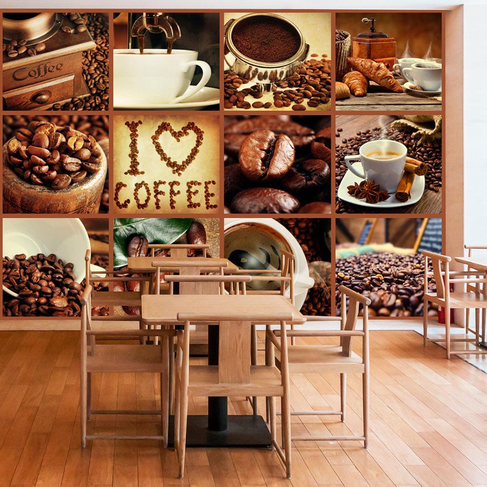 vlies fototapete 3 farben zur auswahl tapeten kaffee coffee j a 0060 a b. Black Bedroom Furniture Sets. Home Design Ideas