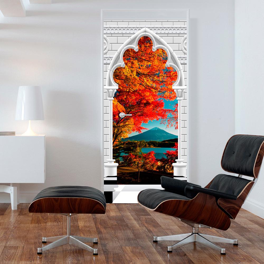 t rtapete selbstklebend fototapete tapete t rposter t raufkleber c c 0158 a b ebay. Black Bedroom Furniture Sets. Home Design Ideas