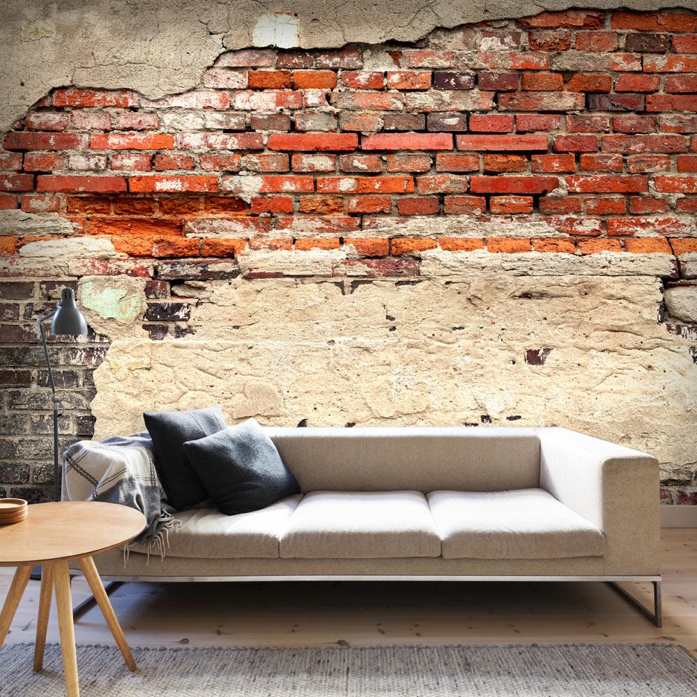 fototapete ziegel optik bis 600 cm vlies tapeten mauer bild 3 farben f a 0503 ebay. Black Bedroom Furniture Sets. Home Design Ideas