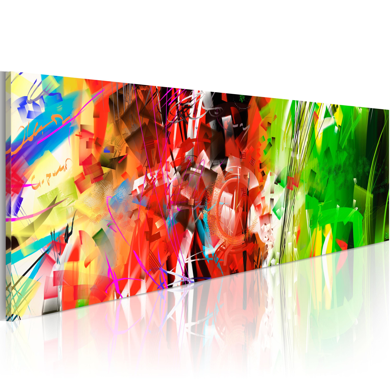 Leinwand Bilder XXL! AUFGESPANNT + 1 teilig + Wand Bilder + ABSTRAKT 020101-107