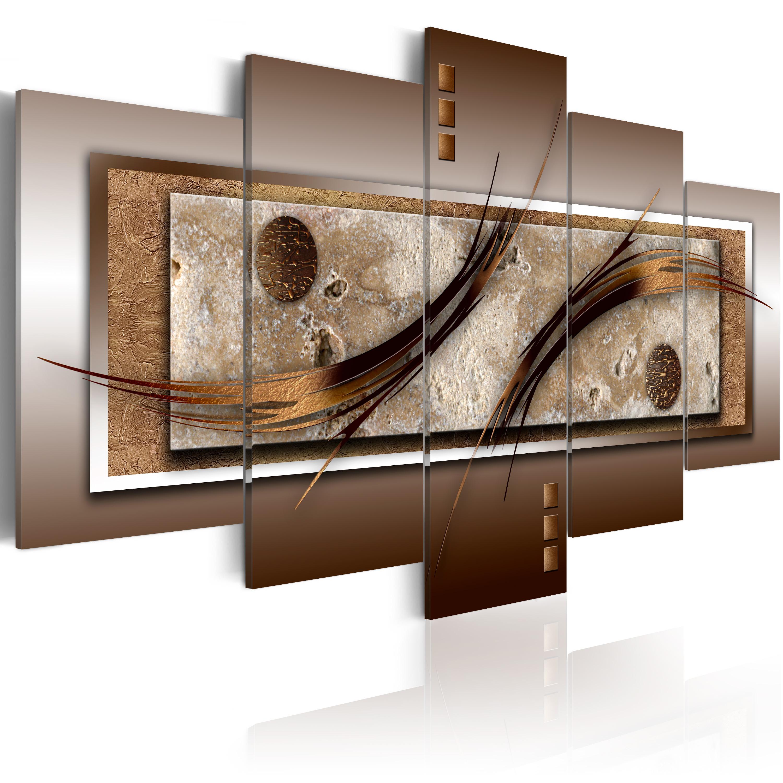 Wandbilder Wohnzimmer Braun