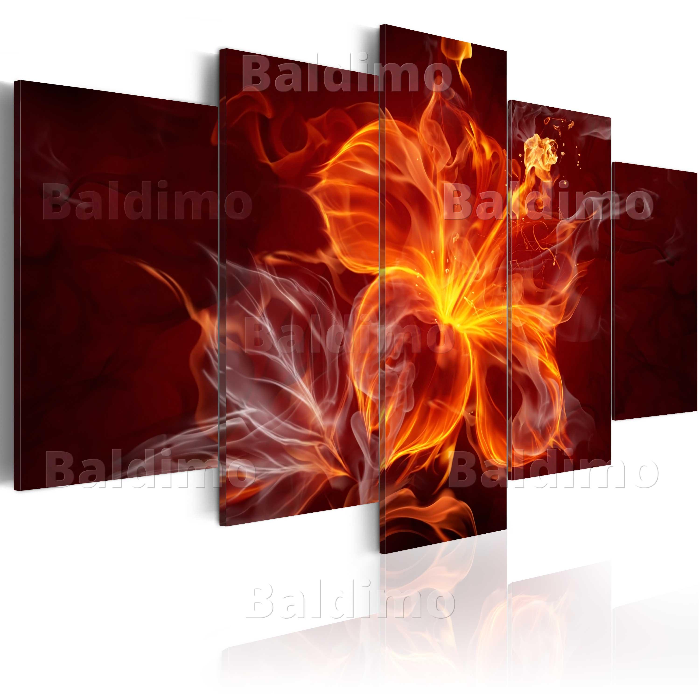 leinwand bilder xxl fertig aufgespannt bild abstrakt blumen 020101 259 ebay. Black Bedroom Furniture Sets. Home Design Ideas