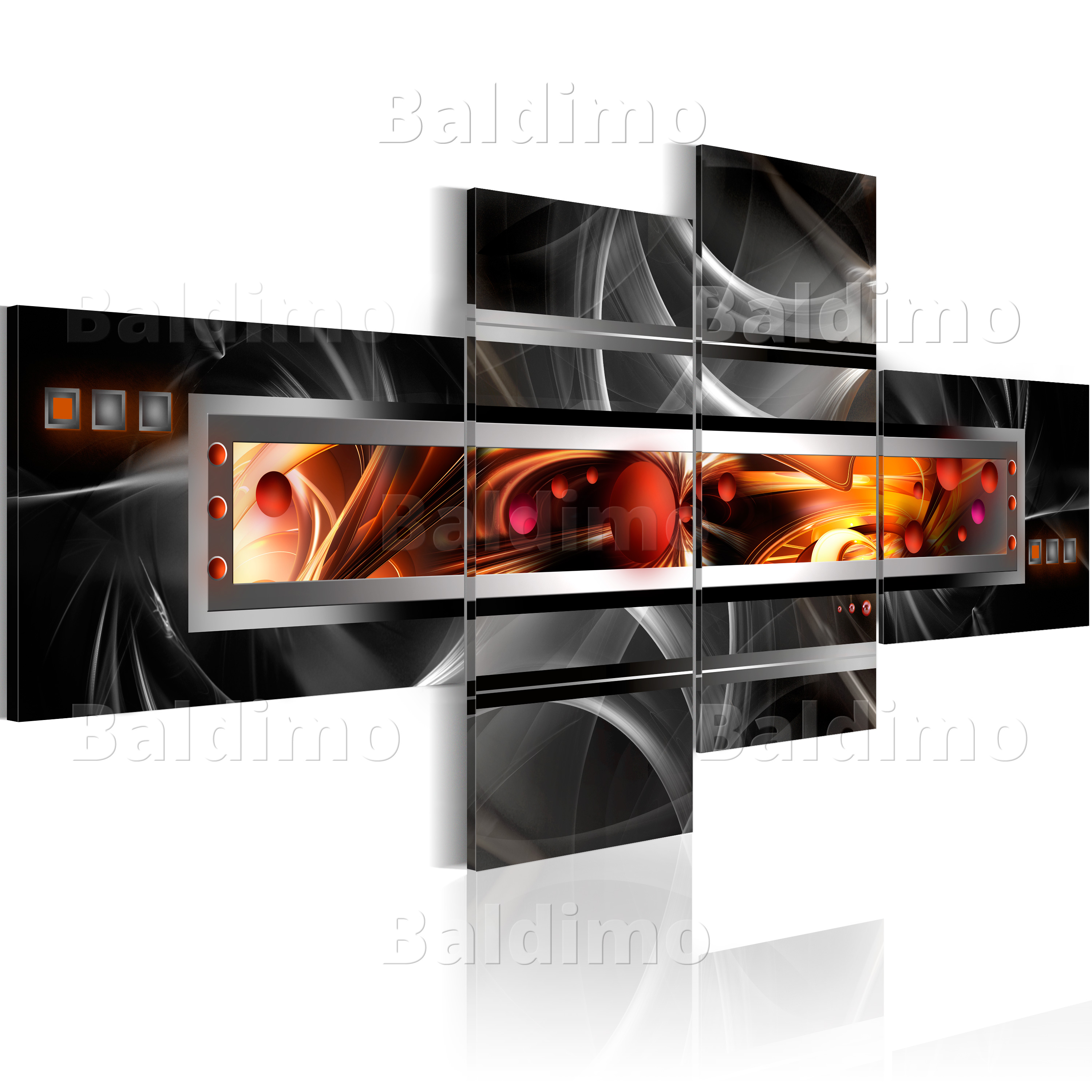 LARGE CANVAS WALL ART PRINT + IMAGE + PICTURE + PHOTO ABSTRACT 020101-3
