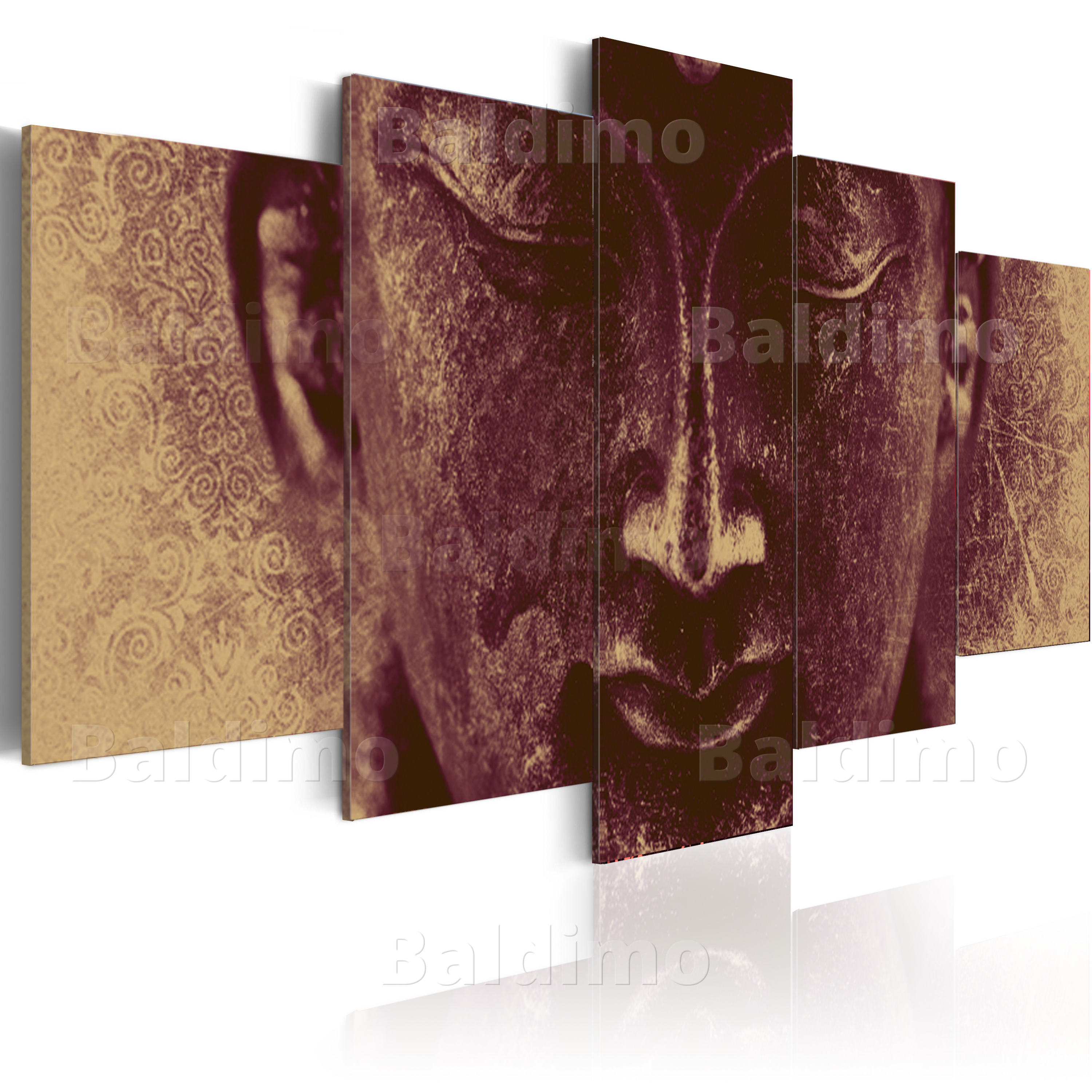 leinwand bilder xxl fertig aufgespannt bild buddha 020113 223 ebay. Black Bedroom Furniture Sets. Home Design Ideas