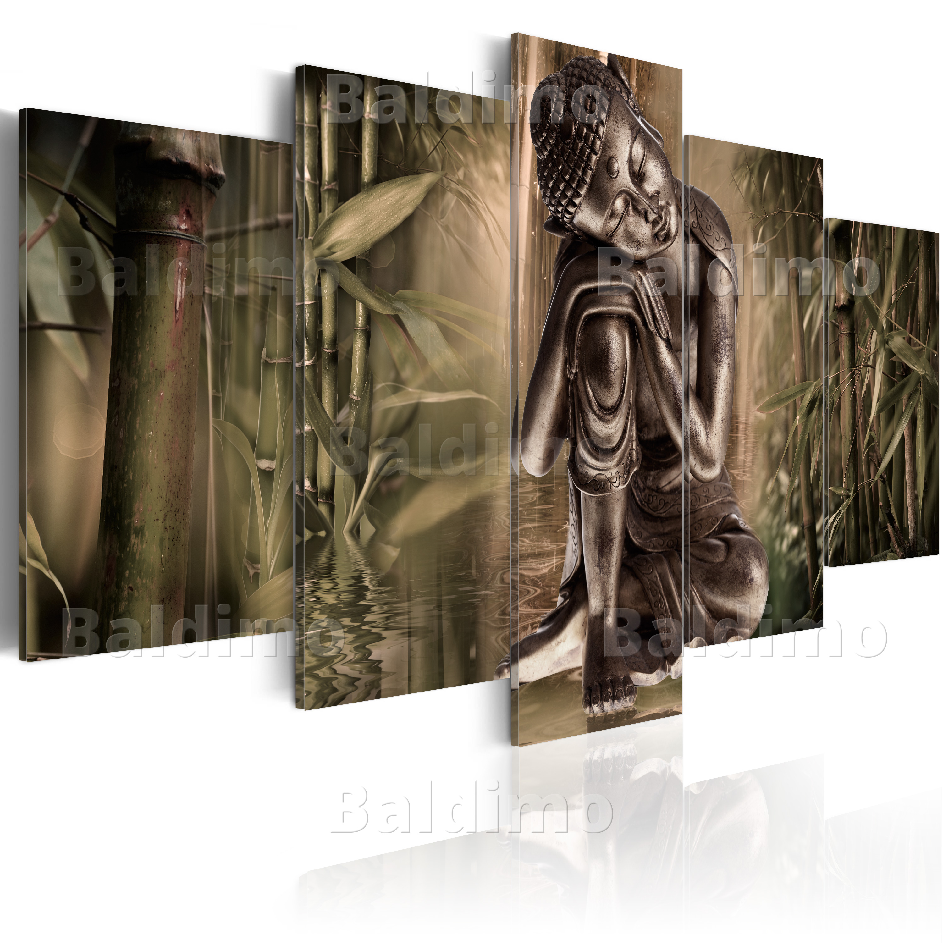 leinwand bilder xxl fertig aufgespannt bild buddha 020113 228 ebay. Black Bedroom Furniture Sets. Home Design Ideas