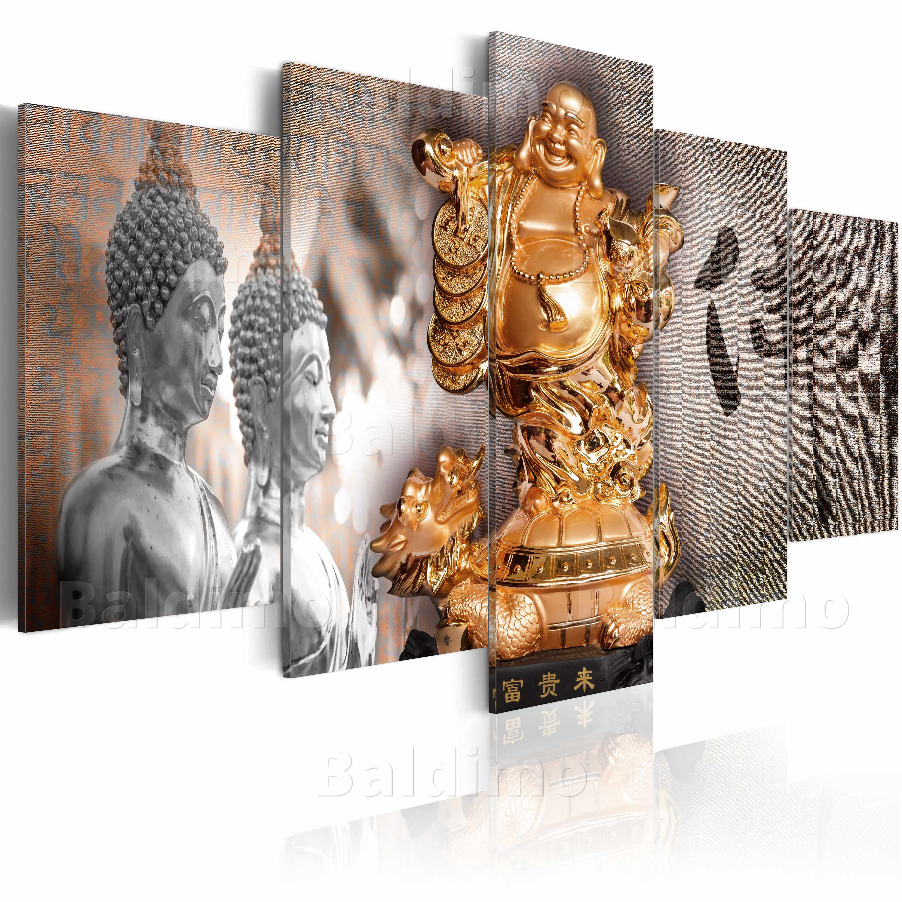 leinwand bilder xxl fertig aufgespannt bild buddha 020113 286 ebay. Black Bedroom Furniture Sets. Home Design Ideas