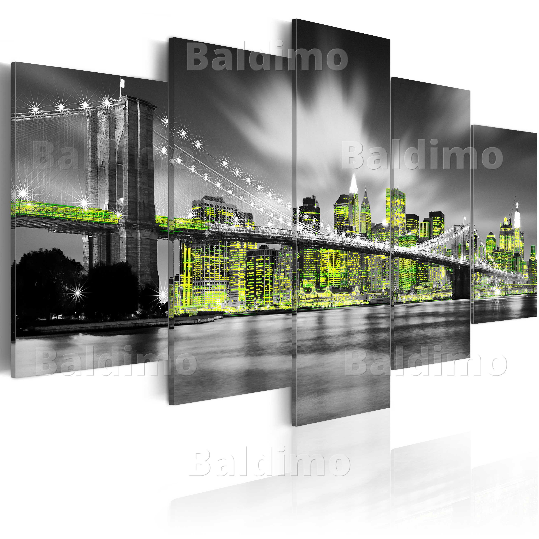 leinwand bilder xxl fertig aufgespannt bild new york 030102 24 ebay. Black Bedroom Furniture Sets. Home Design Ideas
