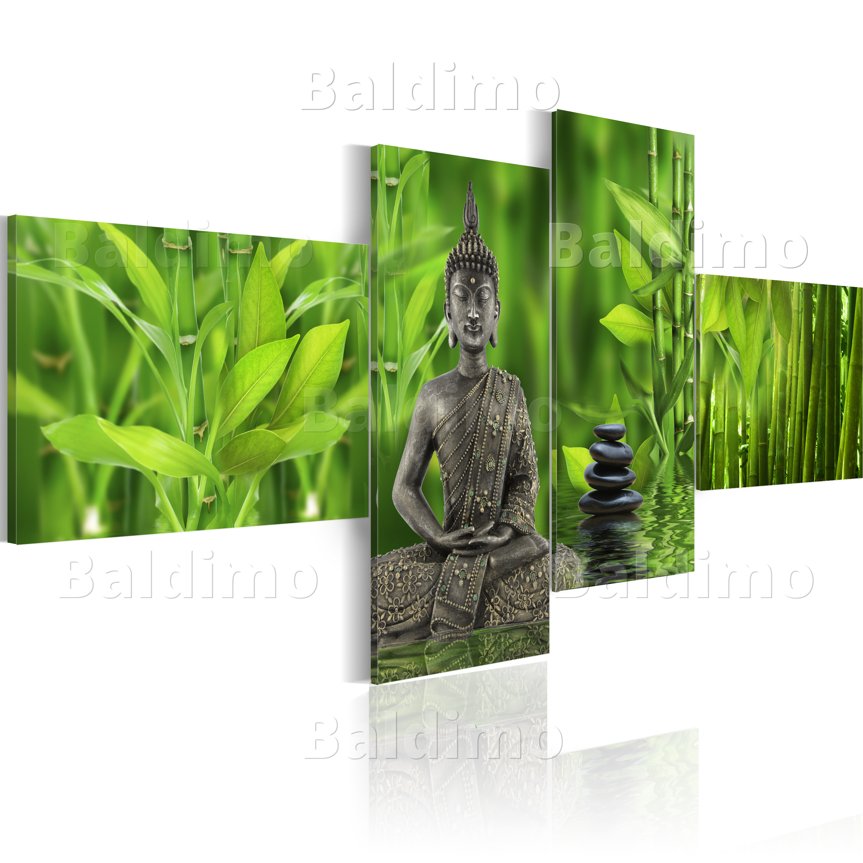leinwand bilder xxl fertig aufgespannt bild buddha 030113 1. Black Bedroom Furniture Sets. Home Design Ideas