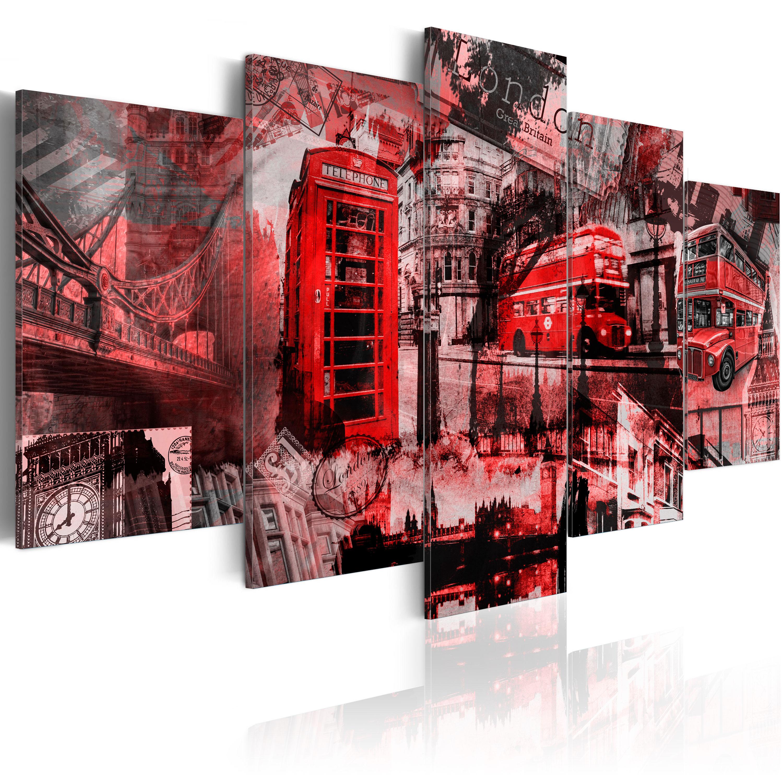 leinwand bilder xxl kunstdruck aufgespannt wandbild london routemaster 030117 5 ebay. Black Bedroom Furniture Sets. Home Design Ideas