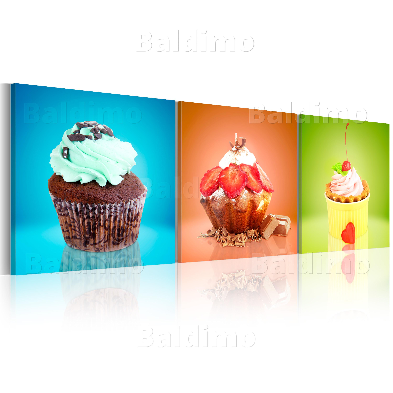 neuheit glasbilder bild deko glass glasbild erdbeere kuchen schoko 030207 28. Black Bedroom Furniture Sets. Home Design Ideas