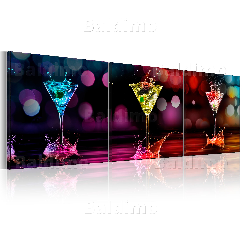 neuheit glasbilder bild deko glass glasbild drink k che glas 030207 34. Black Bedroom Furniture Sets. Home Design Ideas
