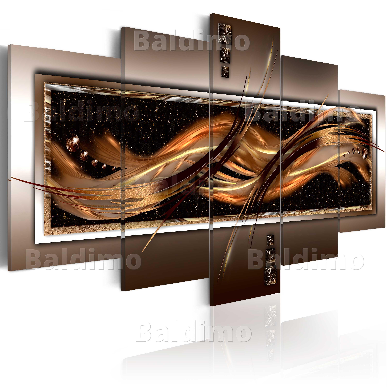 leinwand bilder xxl fertig aufgespannt bild gold abstrakt a a 0034 b n ebay. Black Bedroom Furniture Sets. Home Design Ideas