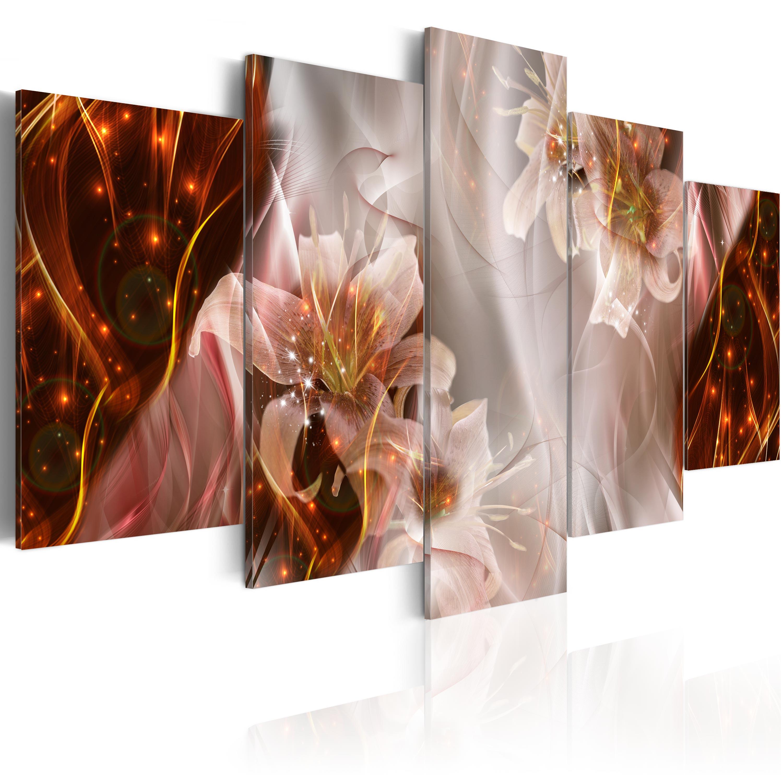 Leinwand bilder xxxl kunstdruck wandbild blumen for Bilder xxxl