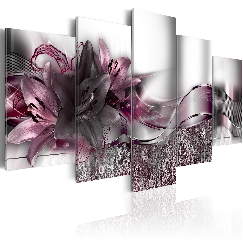 wandbilder xxl blumen abstrakt leinwand bilder 200x100 wohnzimmer b a 0273 b n ebay. Black Bedroom Furniture Sets. Home Design Ideas