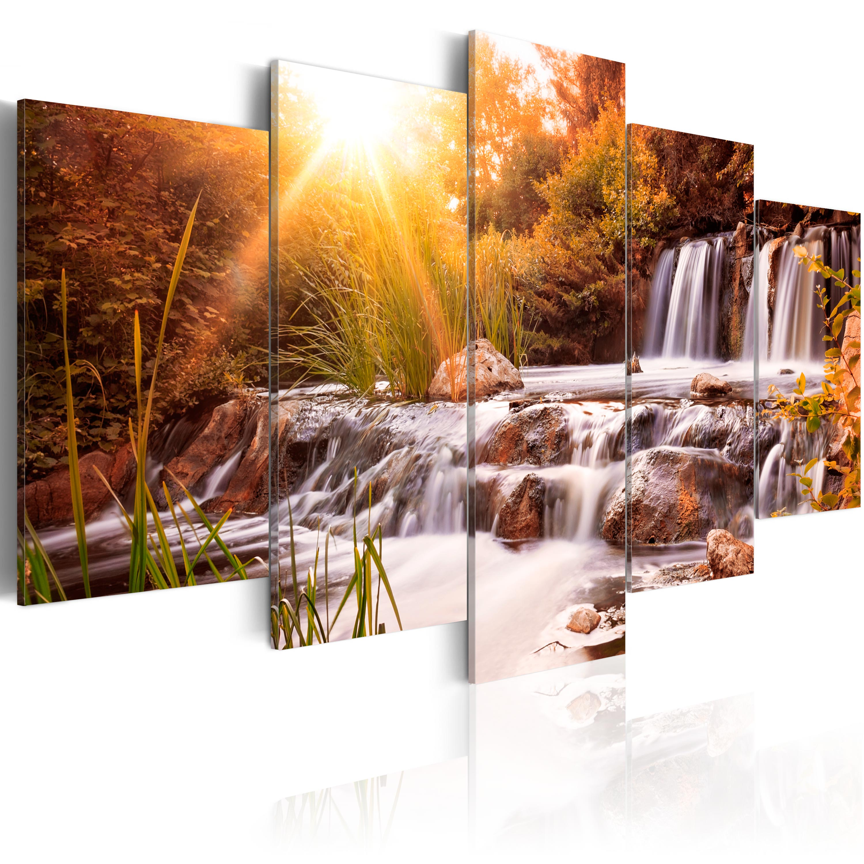 wandbilder wohnzimmer leinwand : Wandbilder Xxl Landschaft Ausblick Natur Leinwand Bilder