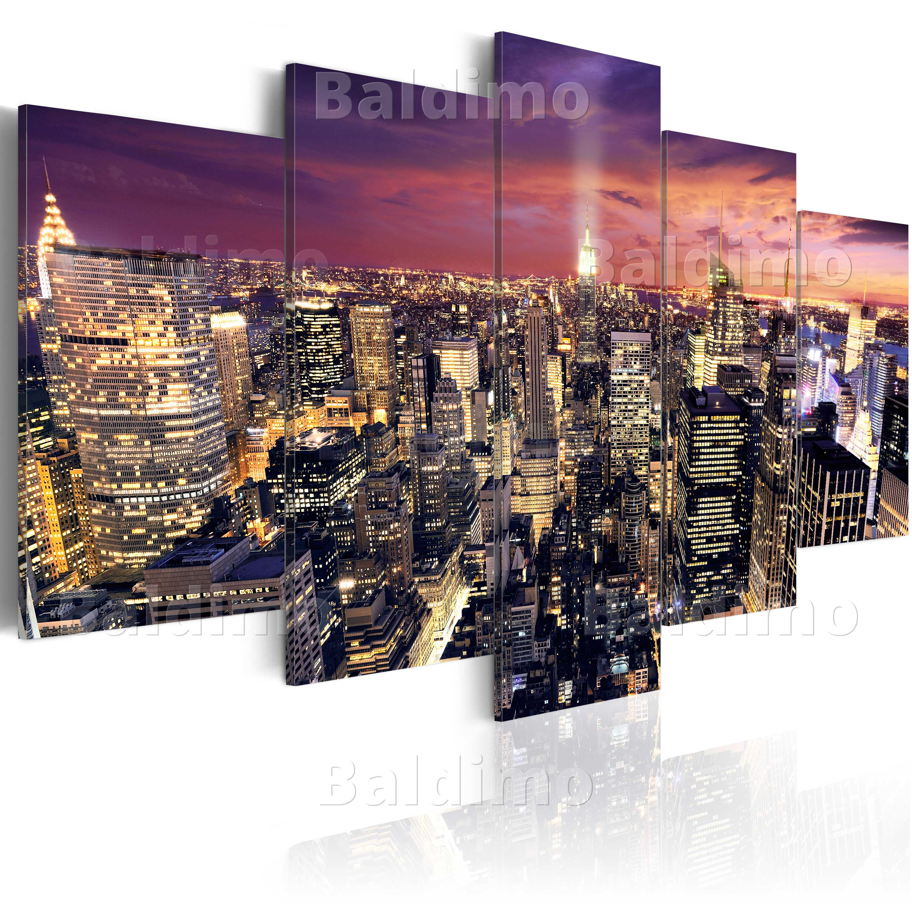 leinwand bilder xxl fertig aufgespannt bild nyc new york d b 0013 b n ebay. Black Bedroom Furniture Sets. Home Design Ideas