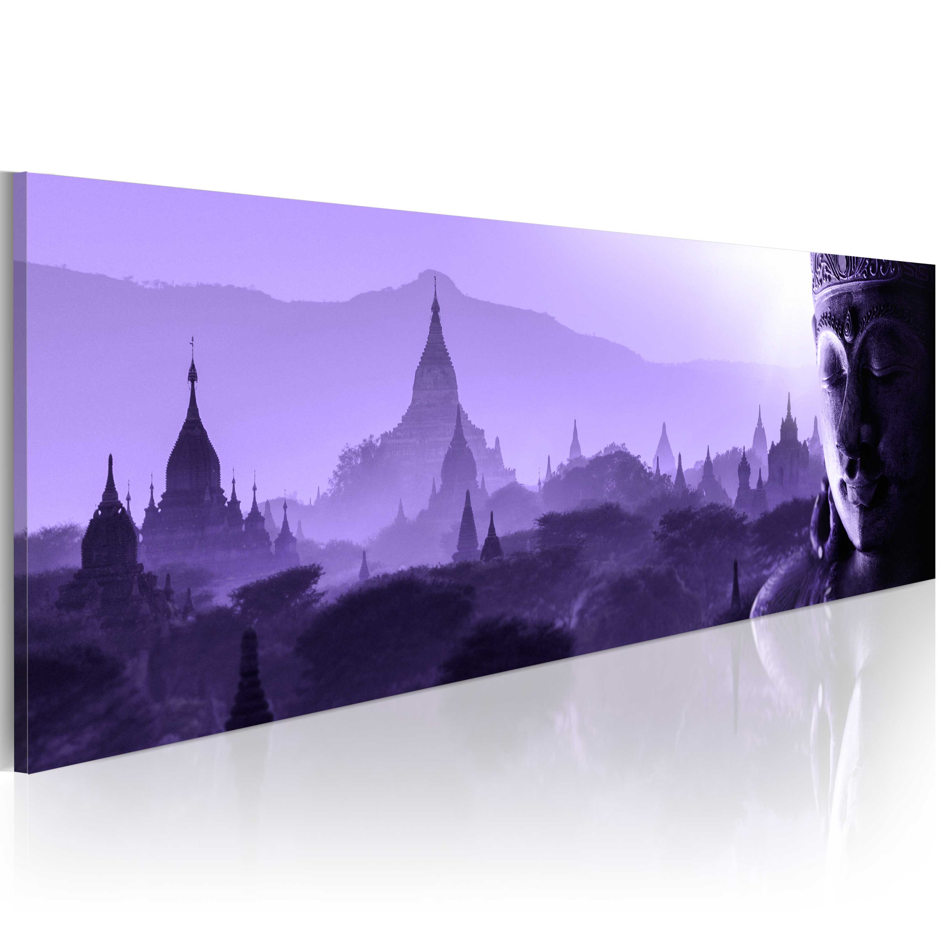 leinwand bilder xxl fertig aufgespannt bild buddha h a 0055 b b ebay. Black Bedroom Furniture Sets. Home Design Ideas
